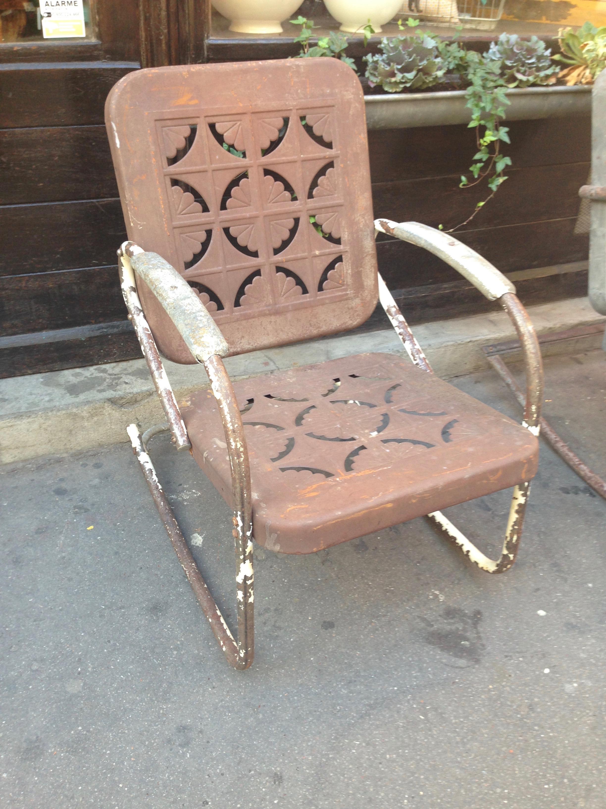 Rocking-Chair Américain 1950 - Carouche - Interprète d\'objets