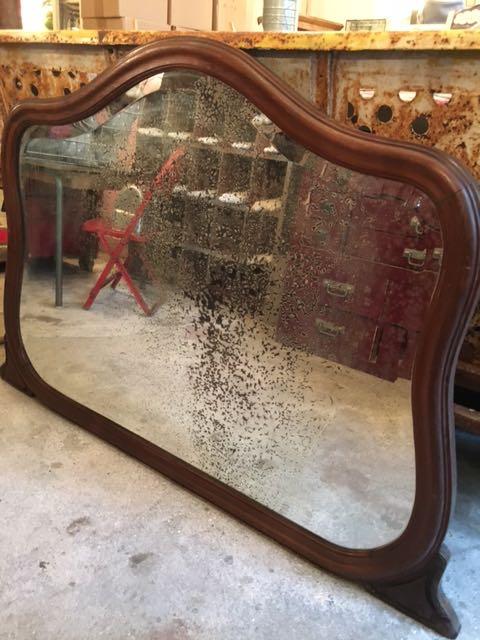 miroir de t te de lit 1920 carouche interpr te d 39 objets. Black Bedroom Furniture Sets. Home Design Ideas