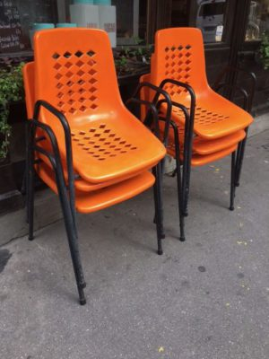 Chaises Bistrot 1970