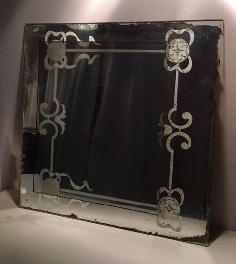 Miroir noeuds 1940 carouche interpr te d 39 objets for Argenture miroir