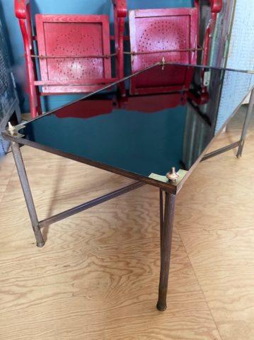 Table Basse Verre noir - 1