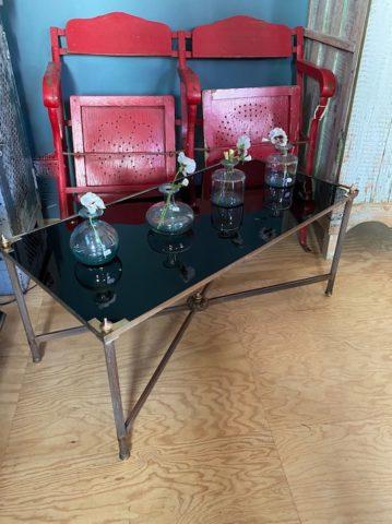 Table Basse Verre noir - 7